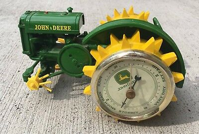 John Deere Tractor Barometer Gauge Danbury Mint  Barometric Pressure For Parts