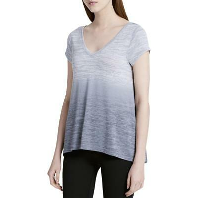 Calvin Klein Performance Womens Gray Ombre Open Back T-Shirt M BHFO 9628