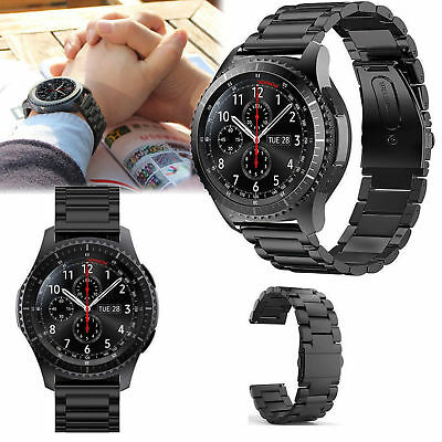 22mm Stainless Steel Wrist Band Strap For Samsung Gear S3 Frontier Classic gift