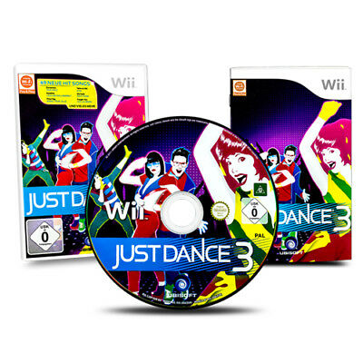 Nintendo Wii Game Just Dance 3 Boxed with Instructions