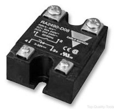 Solid State Relay, SPST-NO, 25 A, 280 VAC, Panel, Screw, Zero Crossing