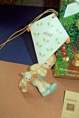 Memories of Yesterday Kite I'll Fly to See You Soon 1992 Porcelain Ornament