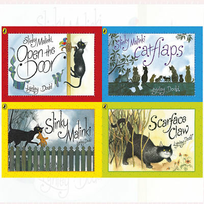 Hairy Maclary and Friends Series By Lynley Dodd 4 Books Collection Pack Set NEW