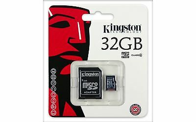 Class 4 Kingston 32GB Micro SD Flash Memory card for Nikon Olympus Camera