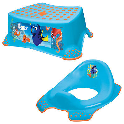 Keeeper 2-teiliges Set FINDING DORY Schemel einstufig & Toilettensitz blue NEU