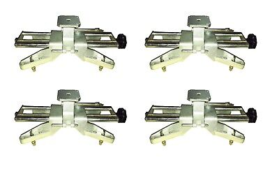 """4 Pc Alignment Wheel Clamps Fits to 25"""" Rims fits Hunter DSP John Bean Hoffman"""