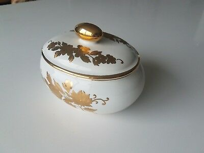 J. Spyropoulos - 24K Gold Hand Painted Antique Bowl