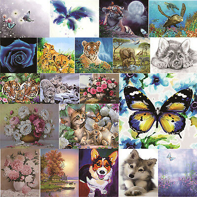 Butterfly 5D Diamond Painting Embroidery Needlework Cross Stitch Art Home Decor