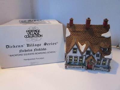 Department 56-59250-Wackford Squeers Boarding School- With Cord  - Boxed
