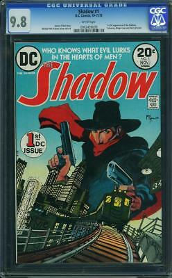 Shadow #1 CGC 9.8 DC 1973 1st DC appearance! Katula! White Pages! G8 909 cm