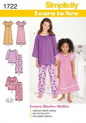 SIMPLICITY CHILDRENS EASY Sewing Pattern 1706 Fleece Capes & Ponchos