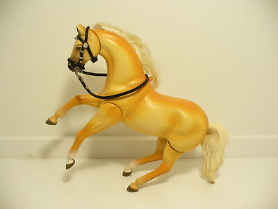 Empire Grand Champion Horse with Saddle & Bridle Equine Toy VGC Works Great