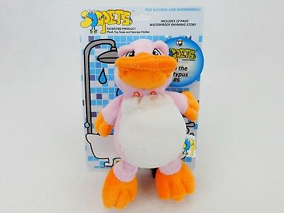 Soapets Plush Bathing Toy ~ Fun Colorful Characters To Wash Kids Clean ~ #6 Lela