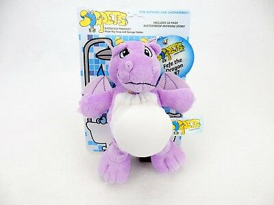 Soapets Plush Bathing Toy ~ Fun Colorful Characters To Wash Kids Clean ~ #7 Fefe