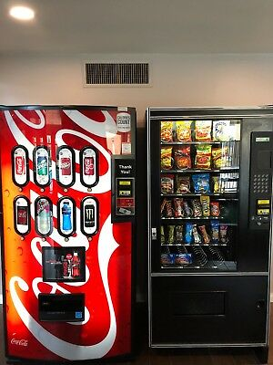 Vending Machines snack and soda