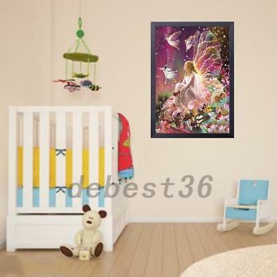 Sweet Girl Angel Sparkle Painting Dining Room Bedroom Home Office Wall Decor
