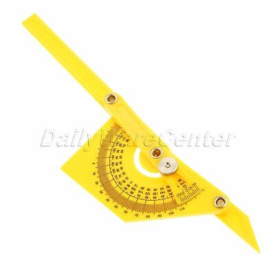 Angle Engineer Protractor Gauge Finder Goniometer Ruler Measuring Tool Plastic