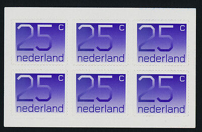 Netherlands 905a Booklet MNH Numeral type