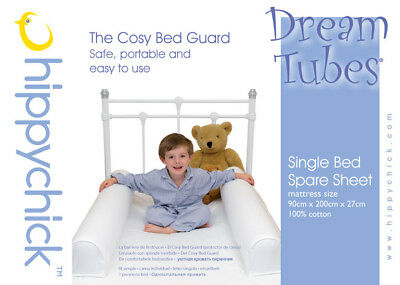 Hippychick Dream Tubes Inflatable Bed Guards - Single Bed Spare Sheet