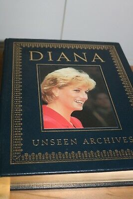 Princess Diana Books - Princess Wales Unseen Archives
