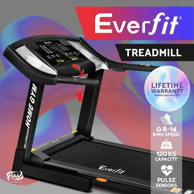 Everfit Electric Treadmill Home Gym Exercise Machine Fitness Equipment MP3