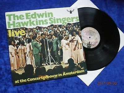 """Lp The Edwin Hawkins Singers """"at The Concertgebouw In Amsterdam""""live*top Zustand"""