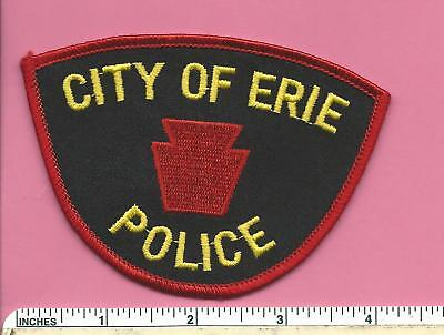 Erie Pa Penna State of Pennsylvania Law Enforcement Police Patch -  Erie County