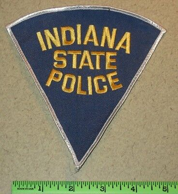 Indiana IN State Police Law Enforcement Highway Patrol Trooper Shoulder Patch