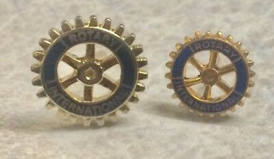 ROTARY CLUB ~ Lot Of 2 Lapel Hat Pin