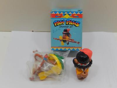 Rare Applause Paw-Paws Hanna Barbera Medicine Paw In Airflane Adventure Set
