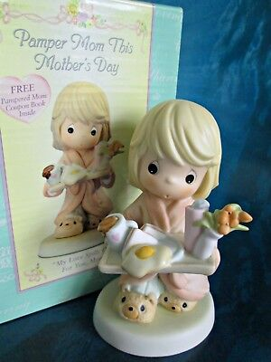 Precious Moments My Love Spills Over For You Mom 101513 Girl In Box Enesco