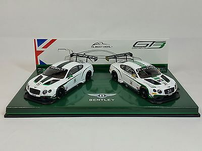 1:43 almost real Bentley Continental GT3 Nurburgring 2015 Drivers selection test