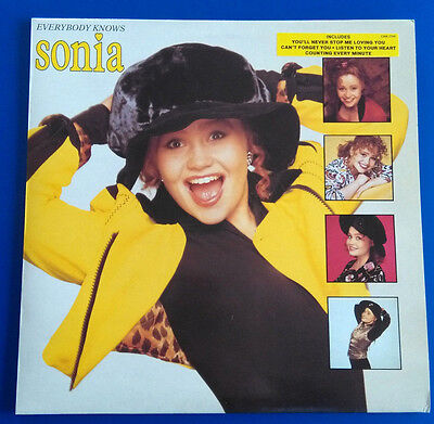 Sonia: Everybody knows, LP, UK 1990