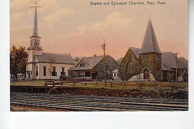 Baptist and Episcopal Churches Ayer MA.