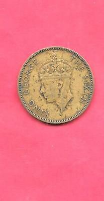 Jamaica British Km34 1952 Vf-Very Good-Nice Old Vintage 1/2 Penny Coin