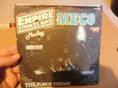 The Empire Strikes Back-Medley-Meco- The Force   --7Inch Vinylsingle- Funk Disco