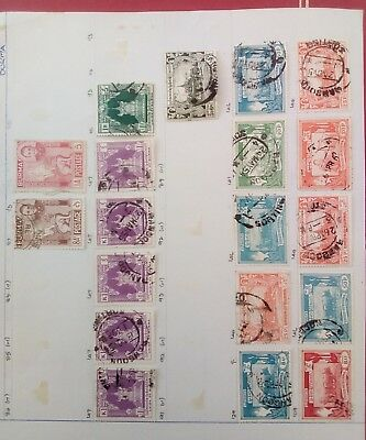 Stamps Used Mm Burma B