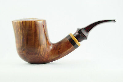 Estate Pipe Pfeife Pipa - PAUL BECKER, GRADE F - Freehand, Straight Grain, 9mm