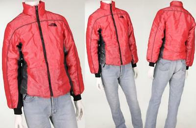Womens The North Face 600 Shiny Down Red Ski Jacket Petites S
