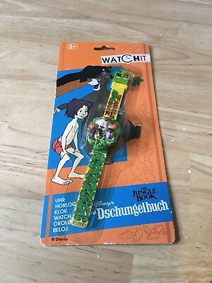 Disney Jungle Book Watch Retro Vintage Watch Moc Sealed Boxed Rare 1990s G1