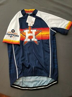 finest selection a05cb b16bf HOUSTON ASTROS CYCLING Jersey 2017 world series champs. Limited edition!