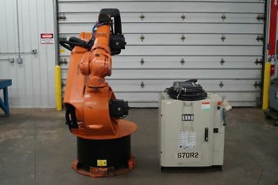 Kuka KR200 Robot with KRC1 Controller 2002 TESTED VIDEO WARRANTY