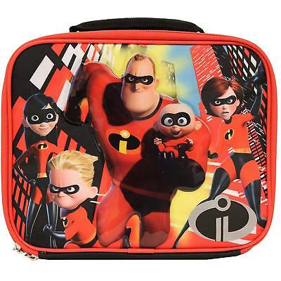 DISNEY INCREDIBLES 2 DASH & JACK JACK Lead-Free Insulated Lunch Tote Box NWT $20