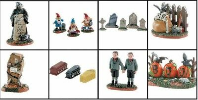 Brand New You Choose Halloween Lemax Spooky Town Collection Figurines