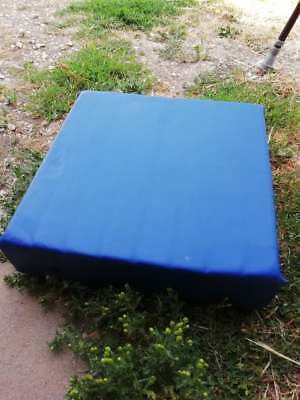 Blue Mobility Wheelchair Pressure Relief Memory Foam Support Comfy Seat Pad