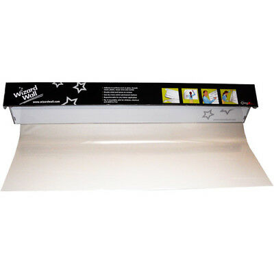"""Wizard Wall 28"""" Clear Static ClingZ Film White Board System - 27525SBC"""