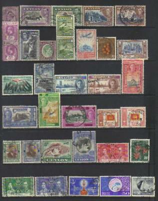 Ceylon 1903-1959 Used Selection Cat £35+