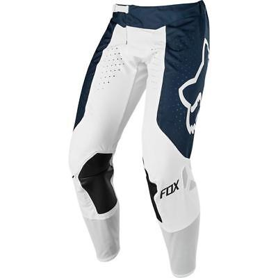 FOX AIRLINE Motocross Hose 2018 - navy weiss Motocross Enduro MX Cross