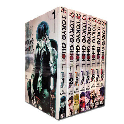 Sui Ishida Tokyo Ghoul Volume (1-8)  8 Books Collection Set NEW