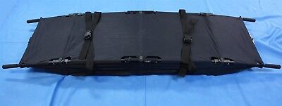 "ABS Litters Evacuation Litter Stretcher Alum 8 lbs. Folds to 19x9x9.5"" Rare"